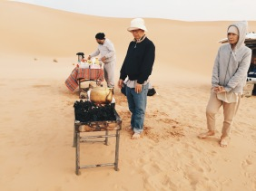 Camp at The Empty Quarter
