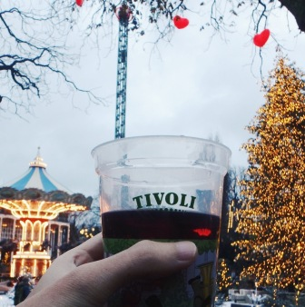 Gluhwein at Tivoli Garden