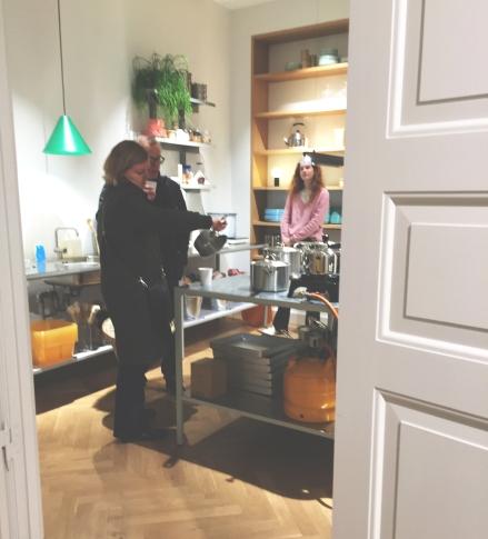 Kitchenware corner in HAY House